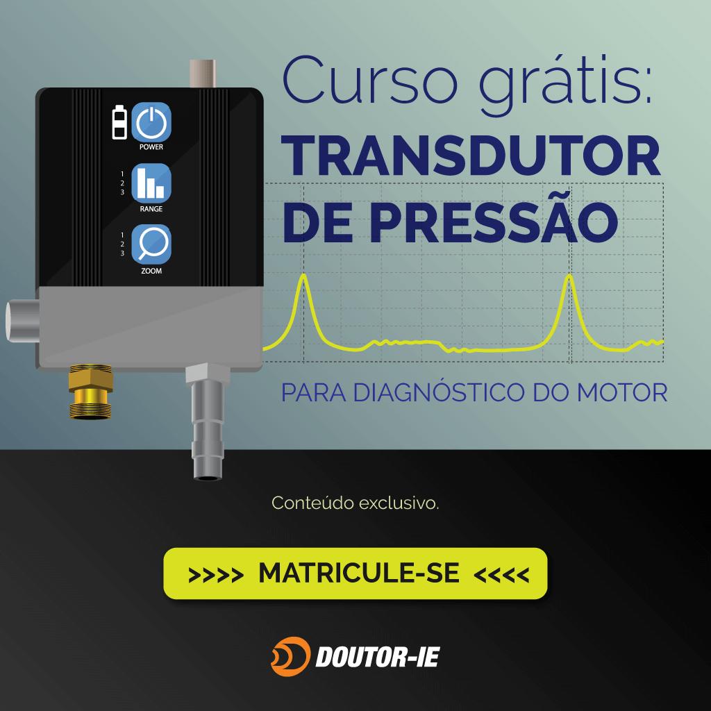 Curso grátis: Transdutor de pressão