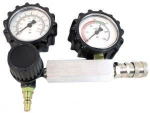 Medidor de vazamento do cilindro