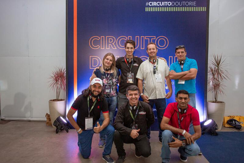 Participantes do Circuito Doutor-IE 2019.