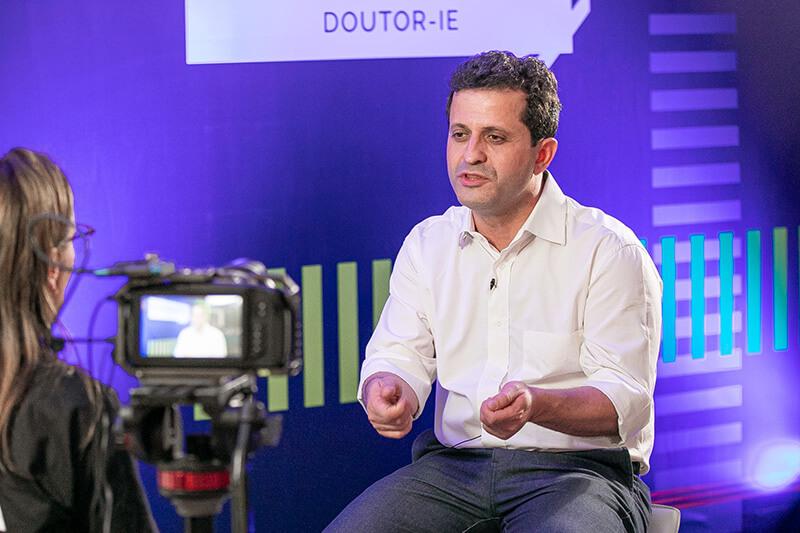 Válter Ravagnani, CEO da Doutor-IE, em entrevista.