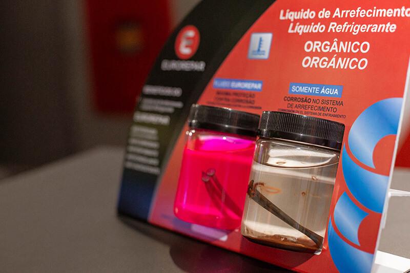 Eurorepar - patrocinador do Circuito Doutor-IE 2019 - produtos em exposição.