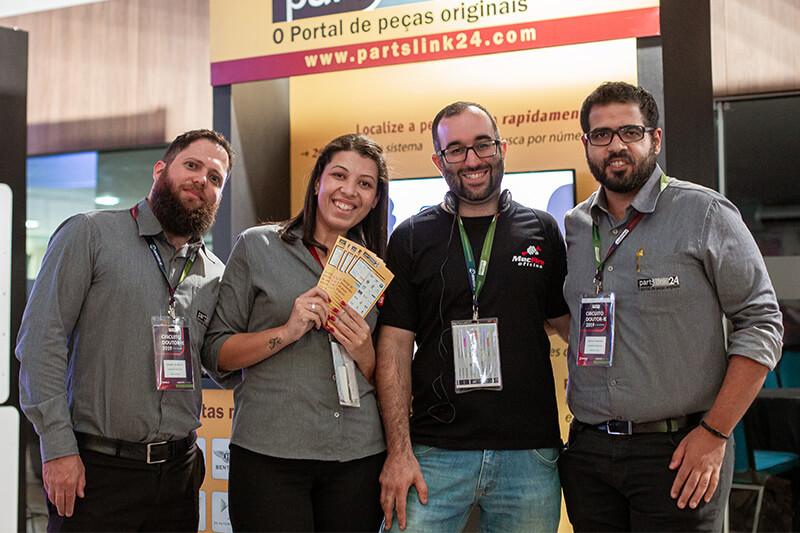 Partslink24 - patrocinador do Circuito Doutor-IE 2019 - equipe e parceiros.