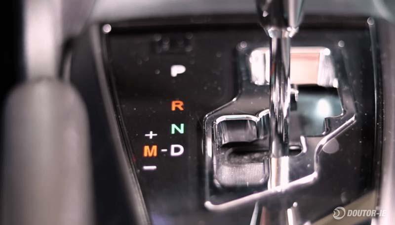 Toyota Corolla 1.8 - procedimento troca de óleo transmissão CVT - alavanca do câmbio