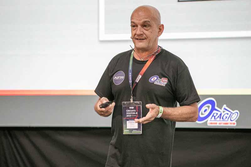 Nivaldo Orágio - palestrando no Circuito Doutor-IE 2019