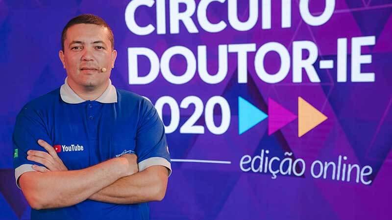 Circuito Doutor-IE 2020 edição online - palestrante Anderson Fermino