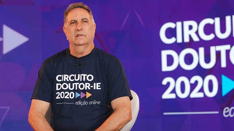 Circuito Doutor-IE 2020 edição online - palestrante Carlos Napoletano