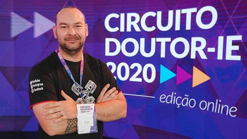 Circuito Doutor-IE 2020 edição online - palestrante Diego Ferrazza