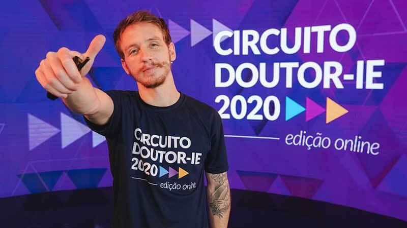 Circuito Doutor-IE 2020 edição online - palestrante Luís Fernando