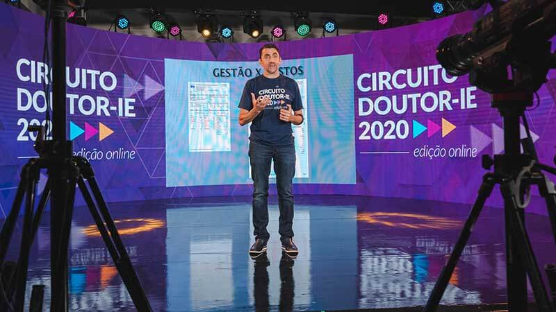 Circuito Doutor-IE 2020 edição online - palestrante Pedro Luiz Scopino