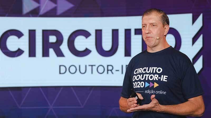 Circuito Doutor-IE 2020 edição online - palestrante Roberto Turatti