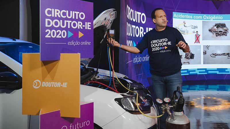 Circuito Doutor-IE 2020 edição online - palestrante Sérgio Eugênio