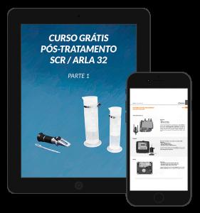 Ebook manual em PDF do curso sistemas de pós-tratamento SCR e ARLA 32