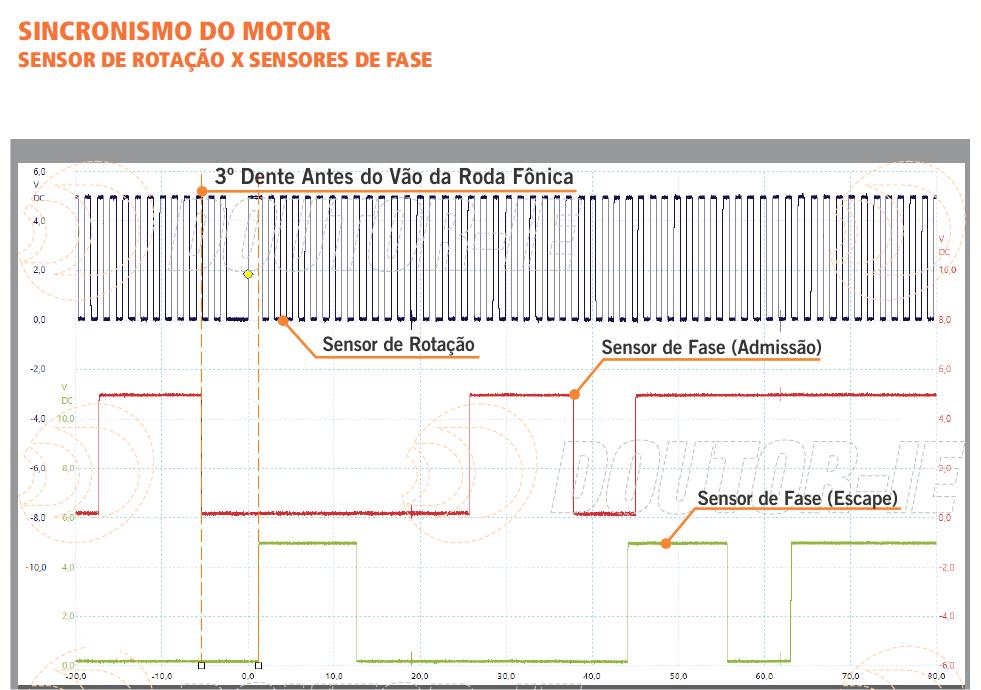 Oscilograma presente na Plataforma Doutor-IE